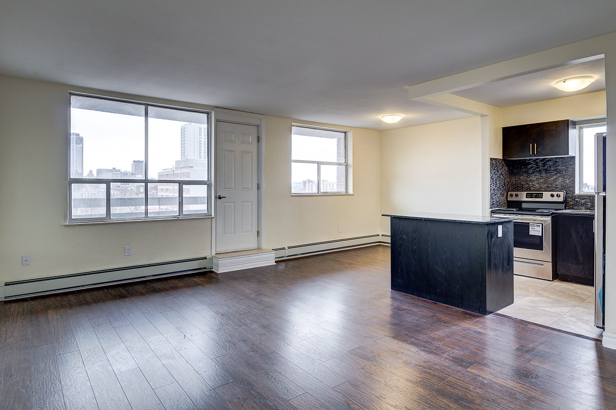 2 bedroom unit #202 – $1499.00 + Hyrdo (luxuriously renovated and very spacious) Available immediately.